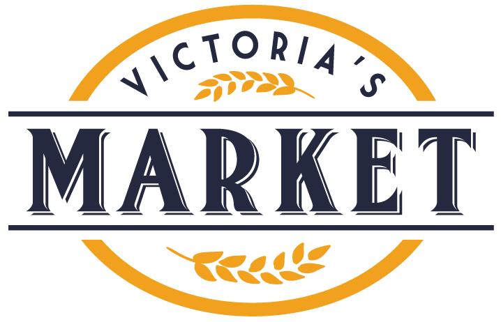 Victoria's Market Logo Design