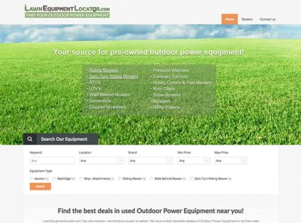 Lawn Equipment Locator