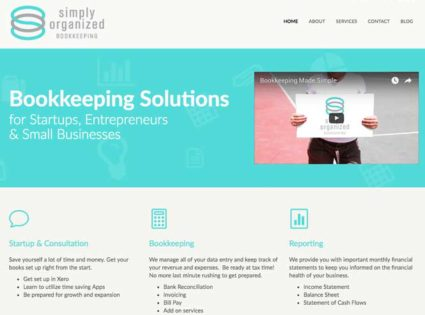 Simply Organized Bookkeeping