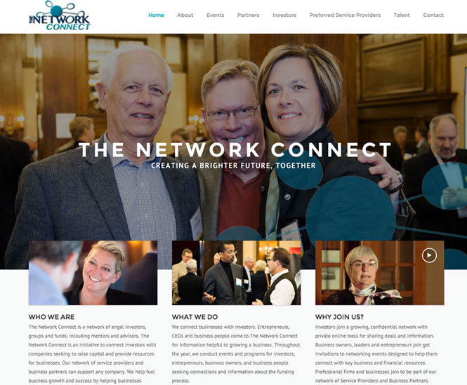 The Network Connect Website Design